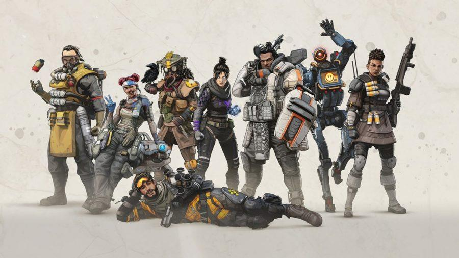 All of the original apex legends from launch.
