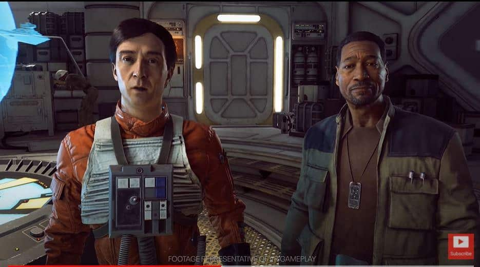 Star Wars: Squadrons Cameos