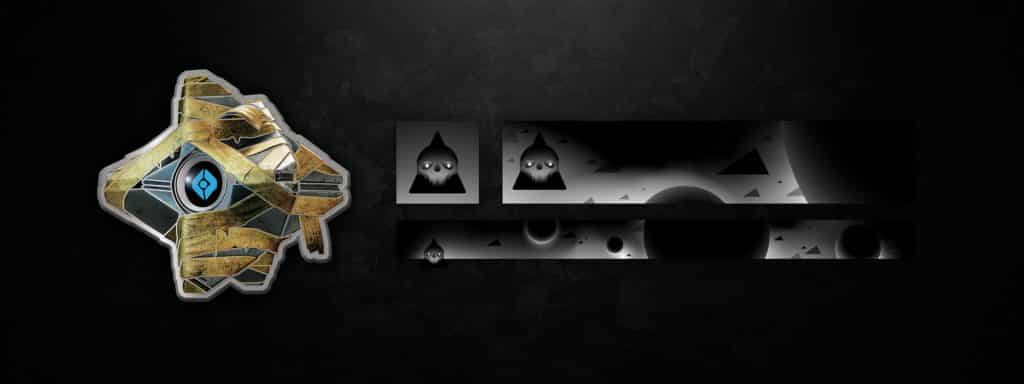 Purchasable Ghost Shell pin Festival of the Lost Emblem