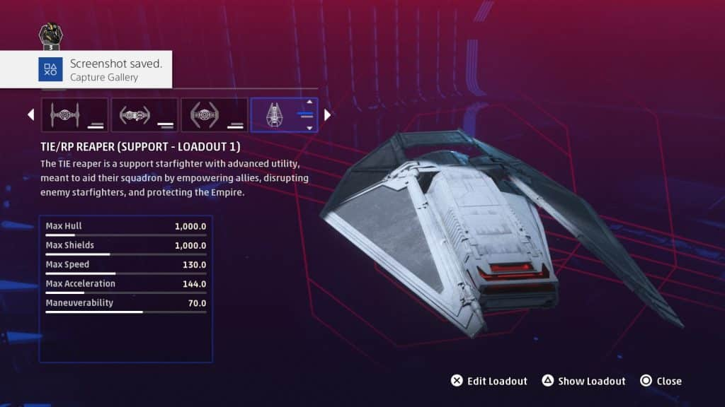 Star Wars Squadrons: All Imperial Ships