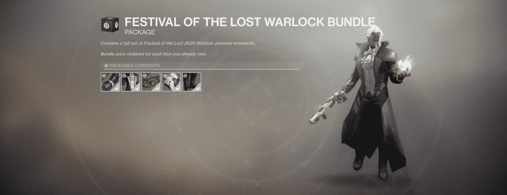 Festival of the Lost Warlock Universal Ornament Set