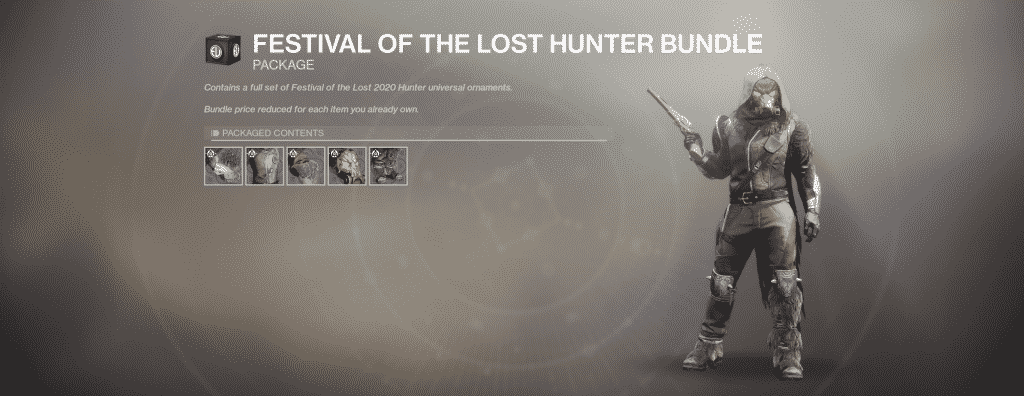 Festival of the Lost Hunter Universal Ornament Set