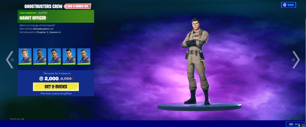 Haunt Officer Outfit