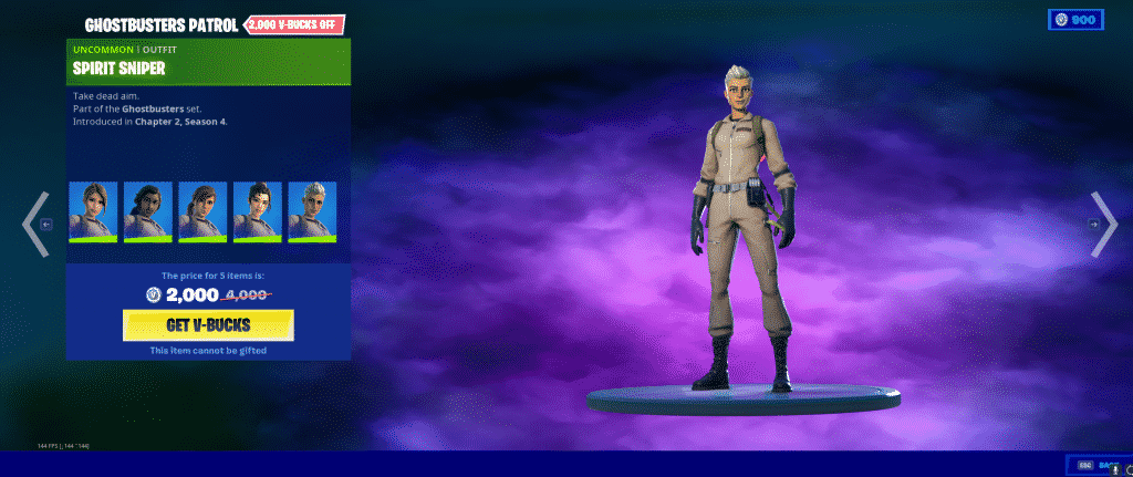 Spirit Sniper Outfit