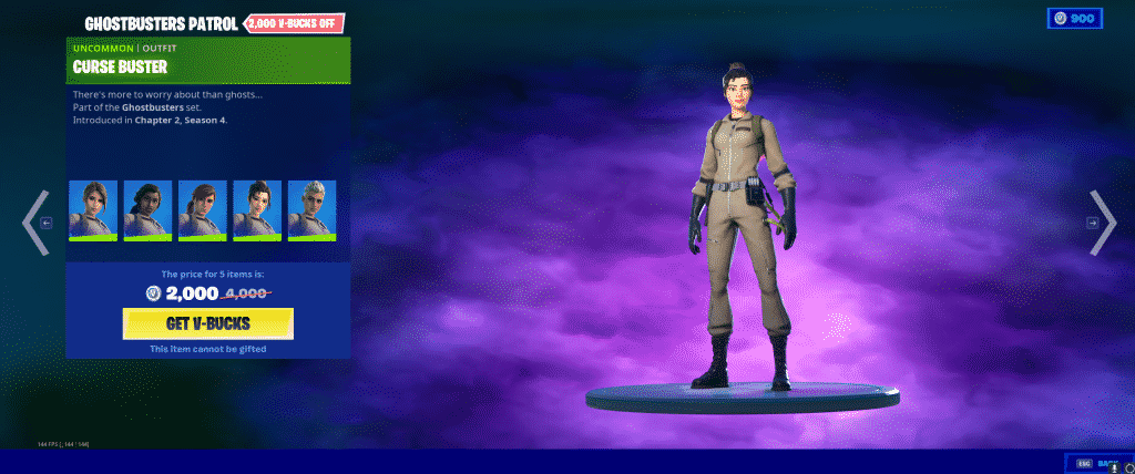 Curse Buster Outfit