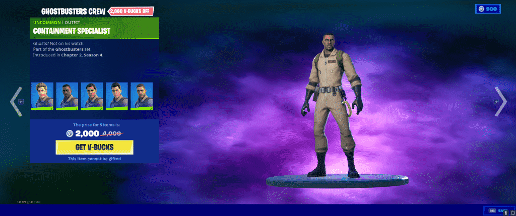 Containment Specialist Outfit