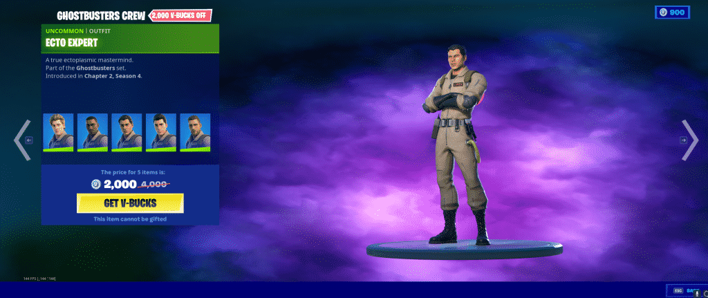 Ecto Expert Outfit