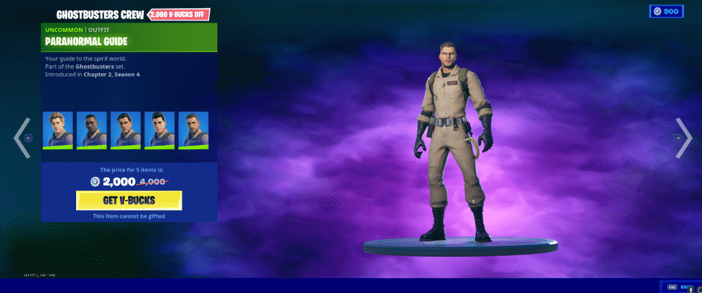 Paranormal Guide Outfit