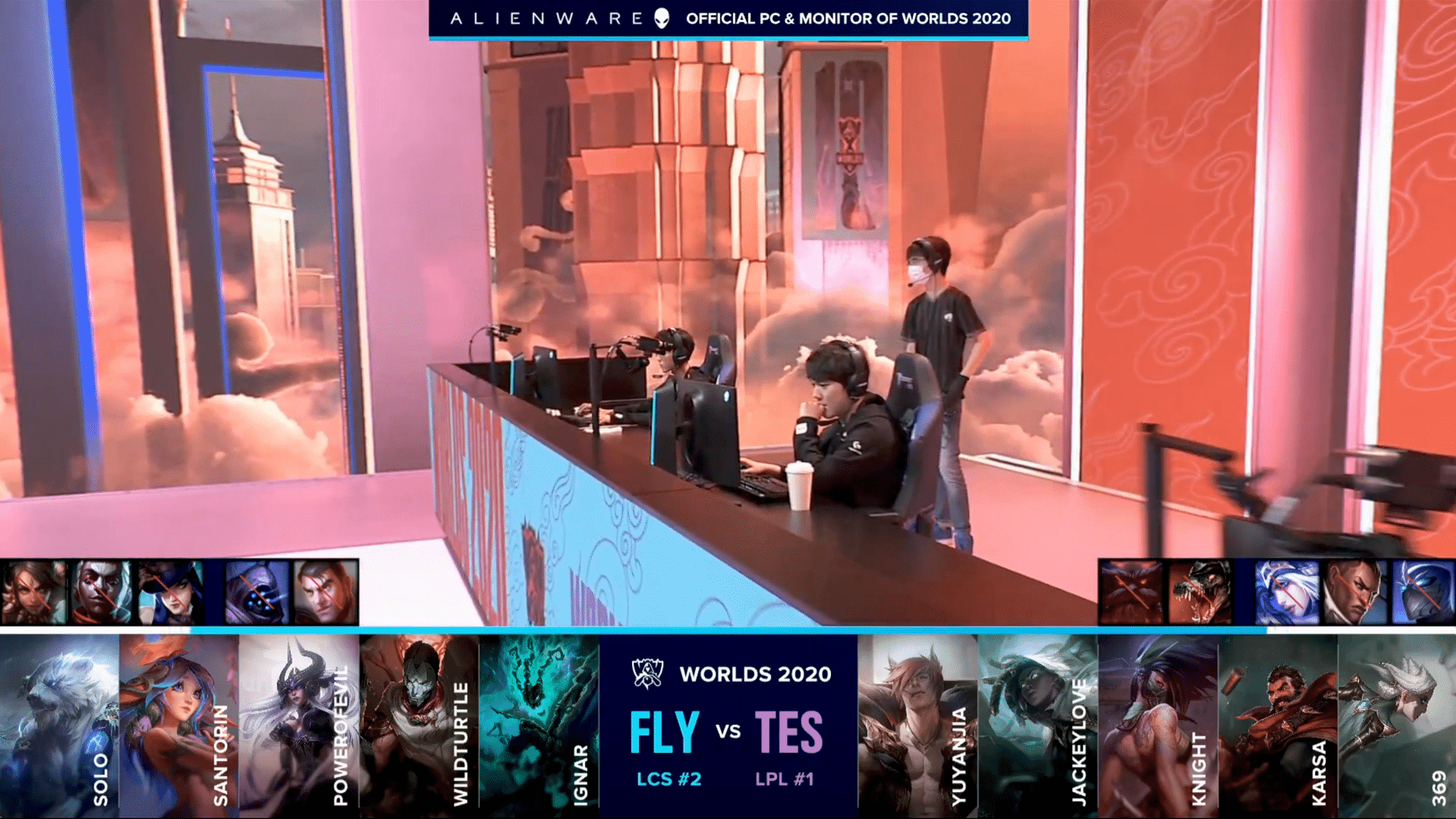 Groups DAY 1  FLY vs TES