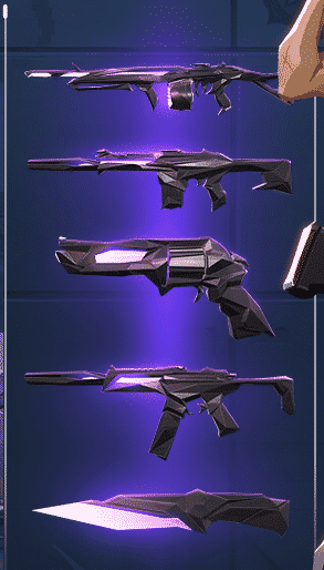 New VALORANT skin bundle 'Singularity.'