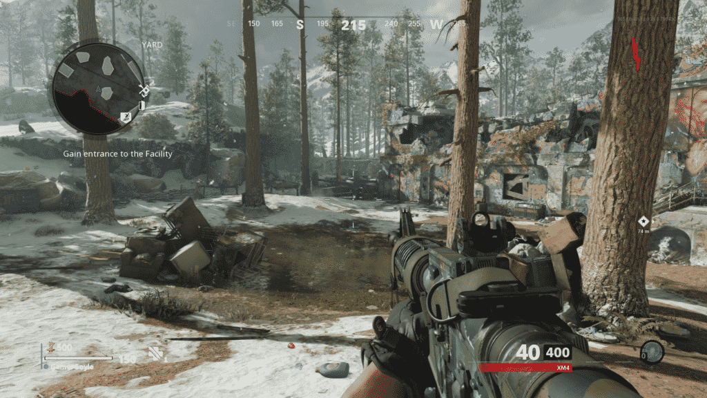 Cold War Zombies Split-Screen