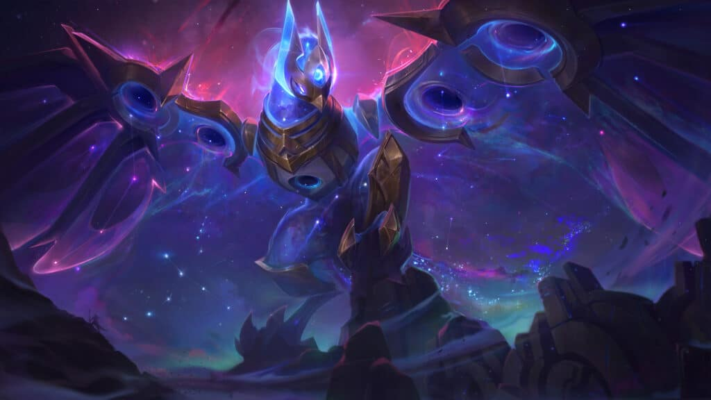 Cosmic Flight Anivia new skin for League of Legends patch 10.24