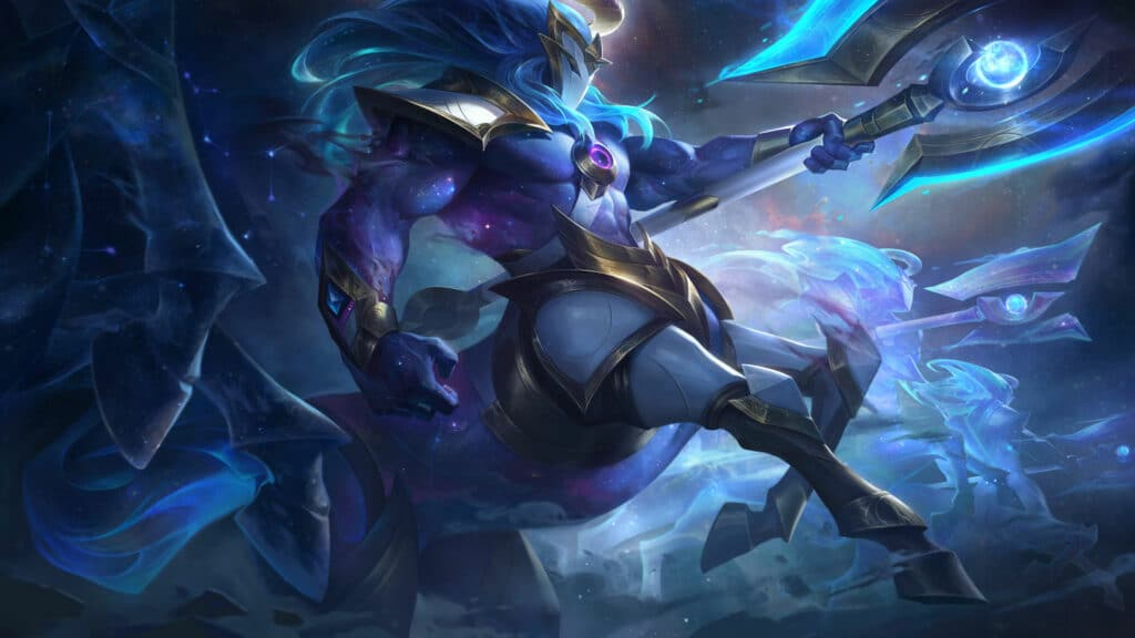 Cosmic Charger Hecarim new skin for League of Legends patch 10.24