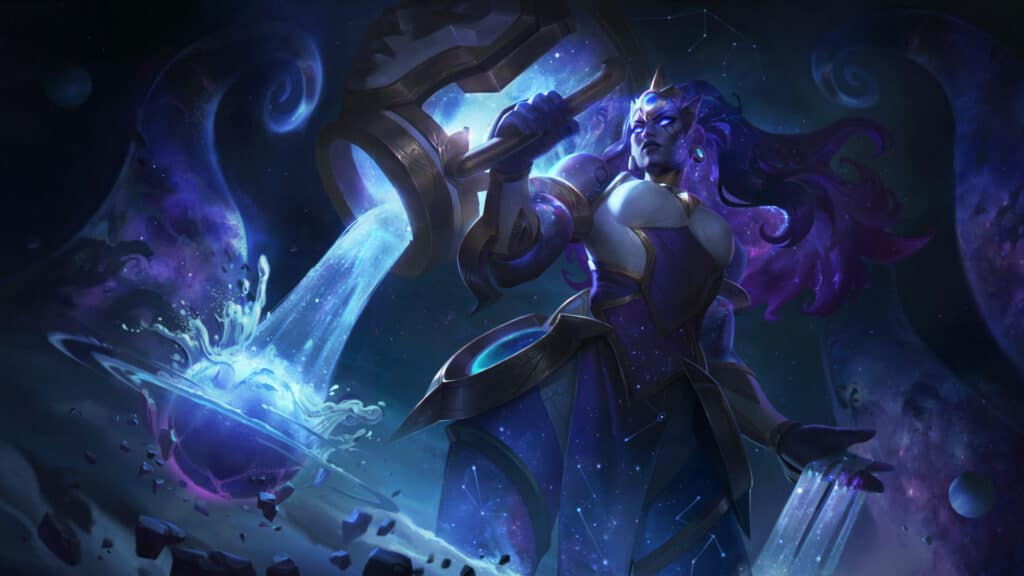Cosmic Invoker Illaoi new skin for League of Legends patch 10.24