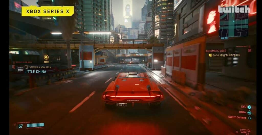 Cyberpunk 2077 Xbox Performance