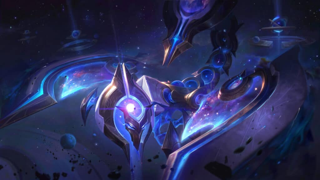 Cosmic Sting Skarner new skin from League of Legends patch 10.24