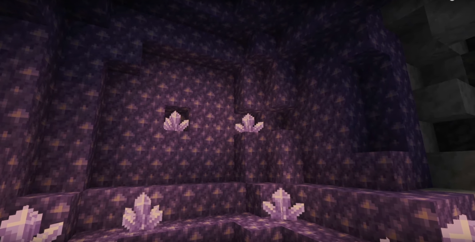 Crystals and Amethyst Minecraft Patch 1.17
