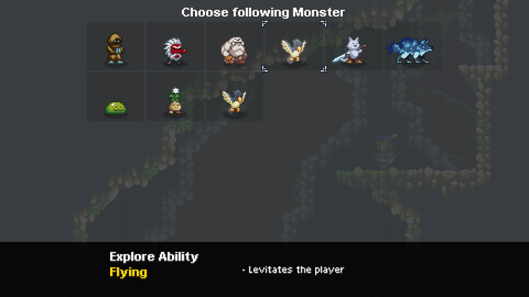 Monster Sanctuary Explore Ability