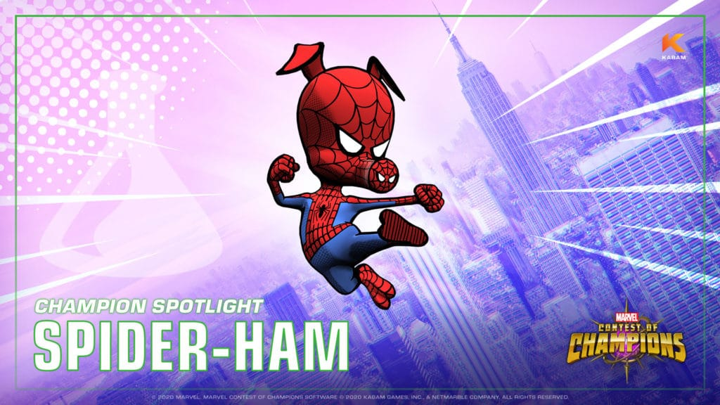 Contest of Champions Spider-Ham Free