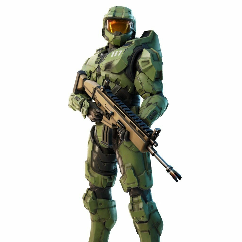 Leaked Master Chief Fortnite skin