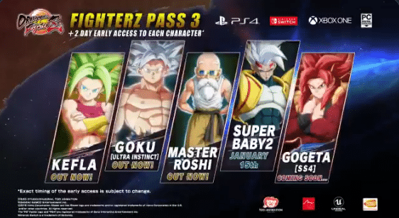 Dragonball FighterZ SS4 Gogeta