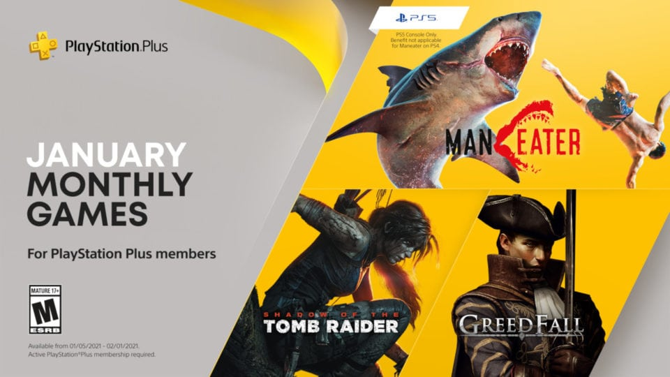 PS Plus January Games