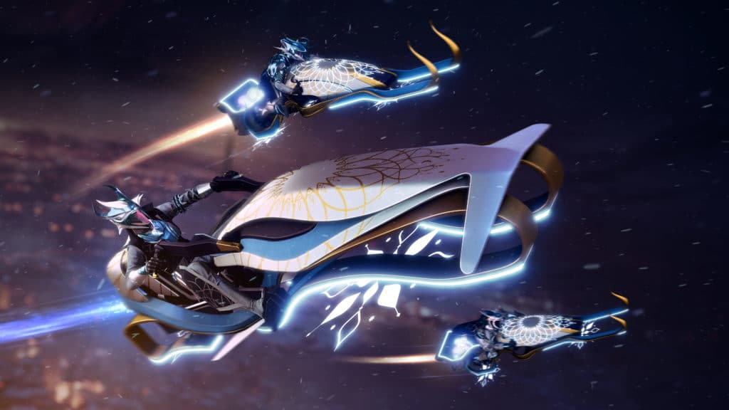 Dawning Destiny 2 Exotic Sparrows