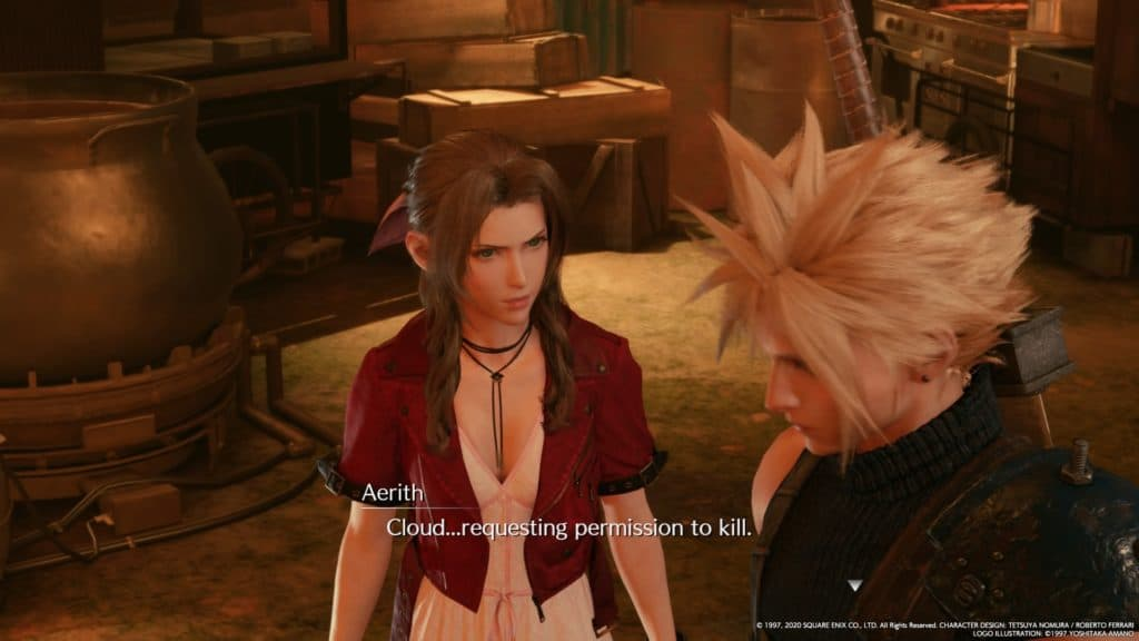 Don't mess with Aerith.