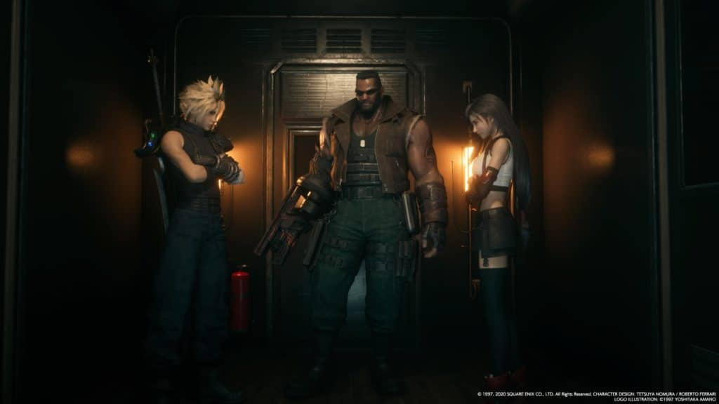 Final Fantasy VII Remake. How to be inconspicuous 101.