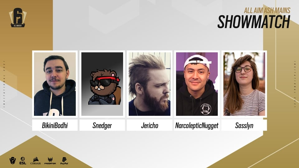 Six invitational showmatch team