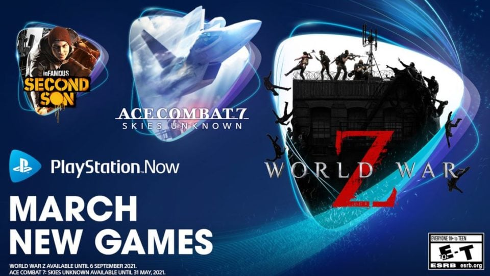 Playstation Now Games March 2021