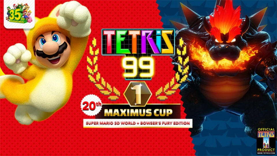 Cover for 20th Tetris 99 Maximus Cup