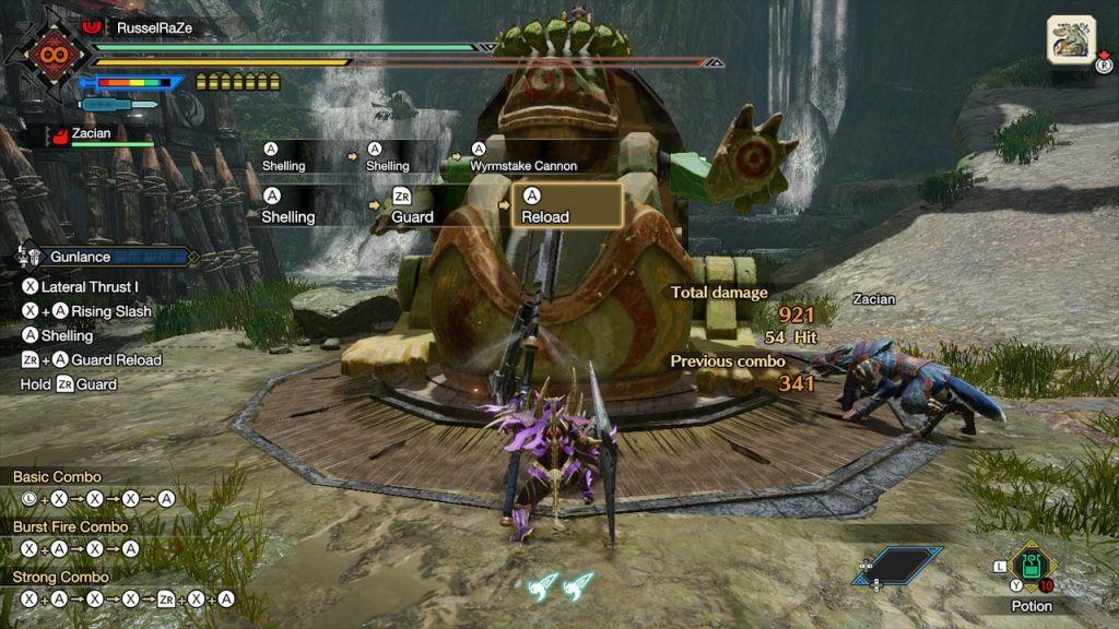Monster Hunter Rise How to Reload Gunlance