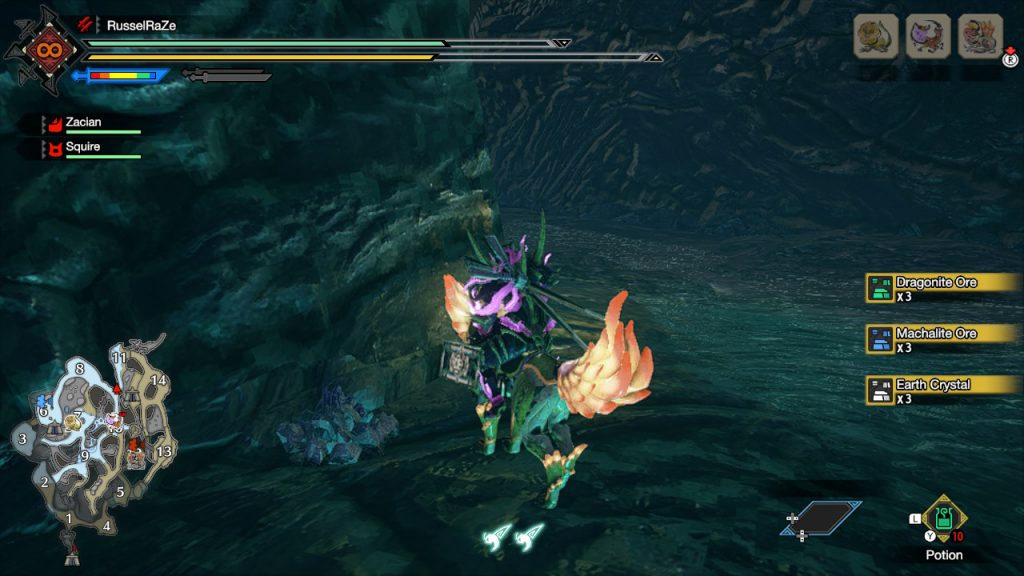 Monster Hunter Rise How to Get Dragonite Ore