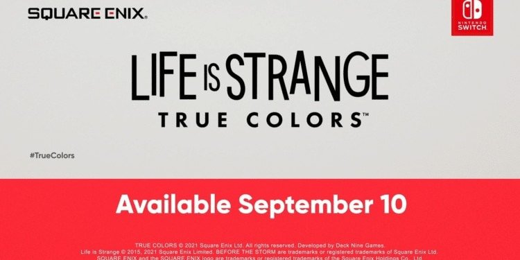 Life is Strange True Colors arriving at the Nintendo Switch