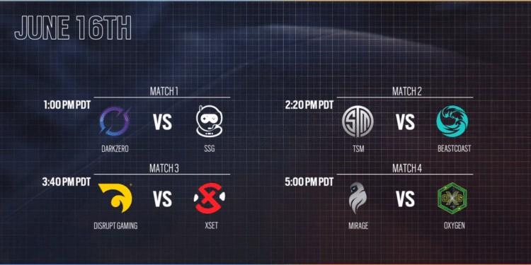 NAL Stage 2 Day 2 Schedule