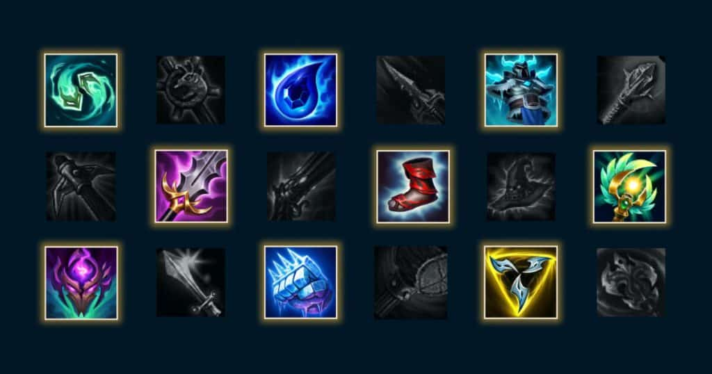 League of Legends mythic items